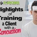 Highlights of Training a Client with a Concussion
