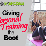 Giving Personal Training the Boot