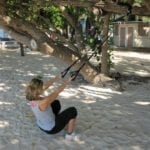 Suspension Trainer for Shoulder Pain