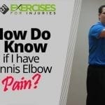 How Do I Know if I have Tennis Elbow Pain?