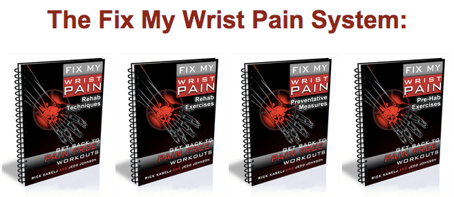 Fix My Wrist Pain Package What to do About Wrist Pain During Push Ups