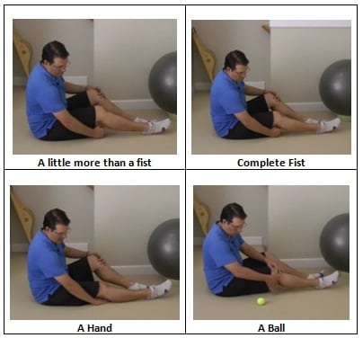 Measuring Knee Extension
