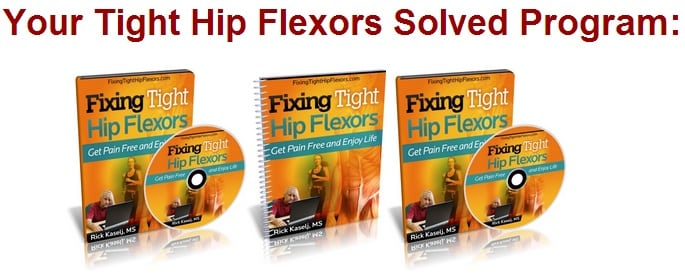 tight hip flexor causes knee pain