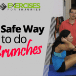 A Safe Way to do Crunches