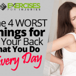 The 4 WORST Things for Your Back that You Do Every Day