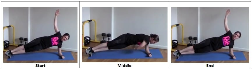 Side Plank with Rotation