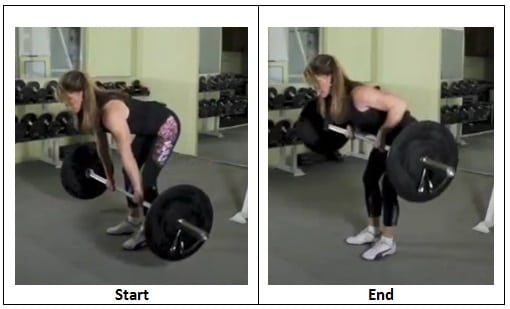 Bent Over Row Enough Already Barbell Challenge Complex