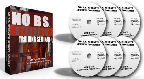 NO BS STRENGTH TRAINING SEMINAR