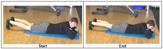 Prone Hip Extension 2 7 Bodyweight Glute Activation Exercises