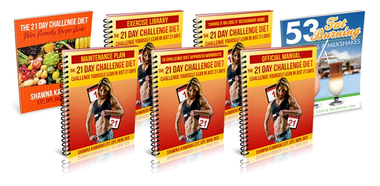 21 Day Challenge Diet How to Have Visible Abs Over the Age of 50