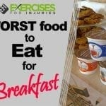 WORST Food to Eat for Breakfast