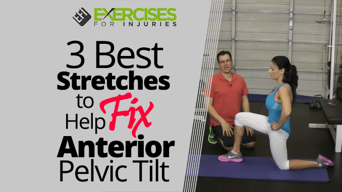 how to create anterior pelvic tilt