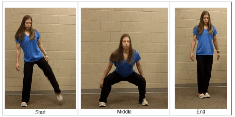 Lower Body Side to Side Squats1 Simple Home Balance Workout