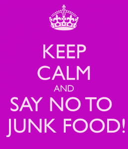 No to Junk food 257x300 3 Ways to Prevent Fat Gain After an Injury