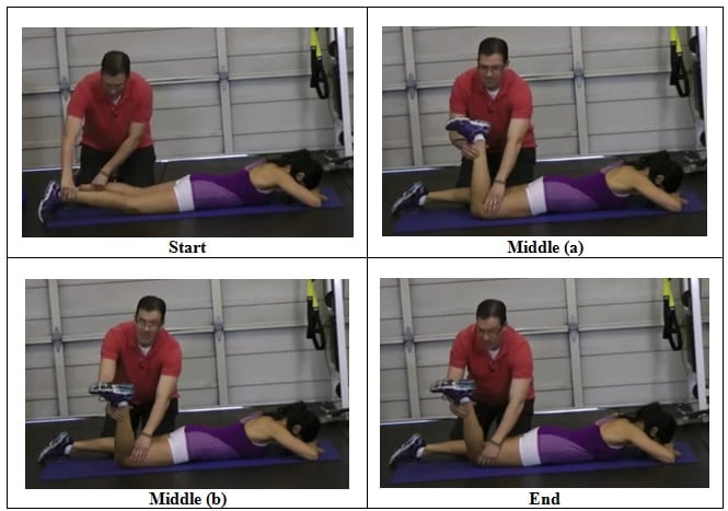 Saratorius Muscle Stretch