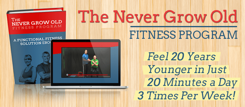 The Never Grow Old Program Simple Home Balance Workout