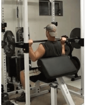 step 2 How to do the Perfect Power Shoulder Press