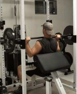 step 4 How to do the Perfect Power Shoulder Press