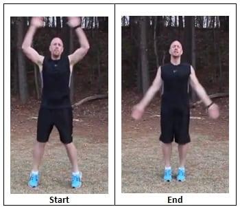 Jumping Jacks (workout pace)