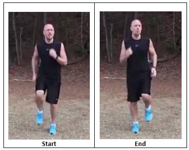 Running in Place (warm up pace)