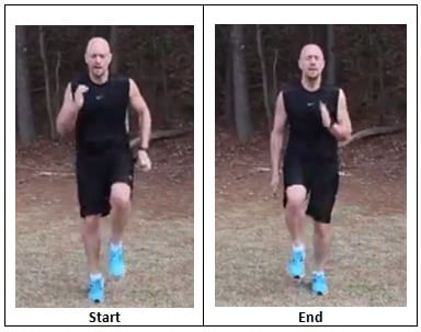 Running in Place (workout pace)