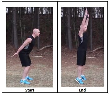 Total Body Extension (workout pace)