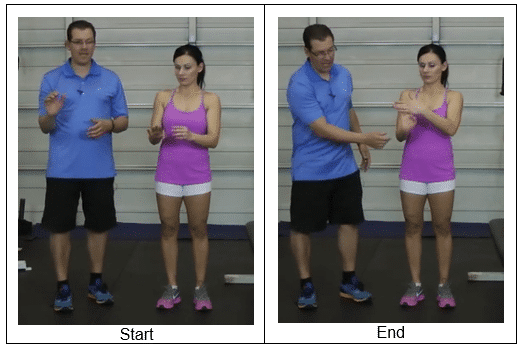 Bent Arm Stretch