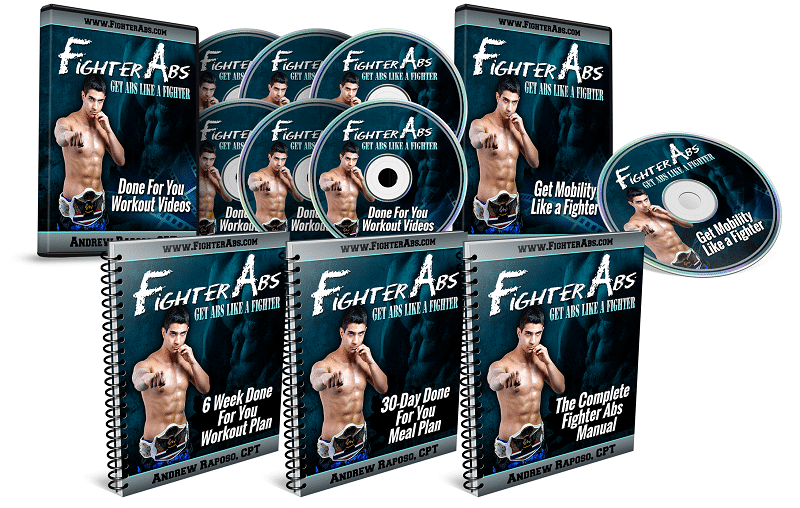 FighterABS ProductBundle 5 Your Low Back Friend Ab Workout