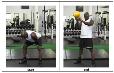 8 Two Arm Swings