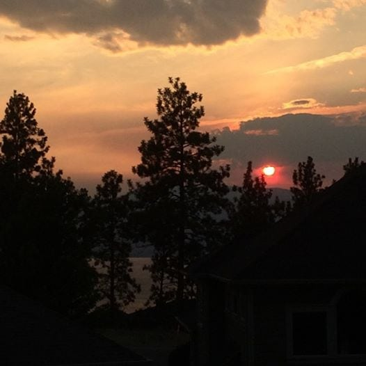 Kelowna Fire Sunset How to Jazz Up The Boring Burpee