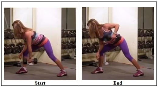 Dumbbell Row 5 Exercises that Target Back Fat
