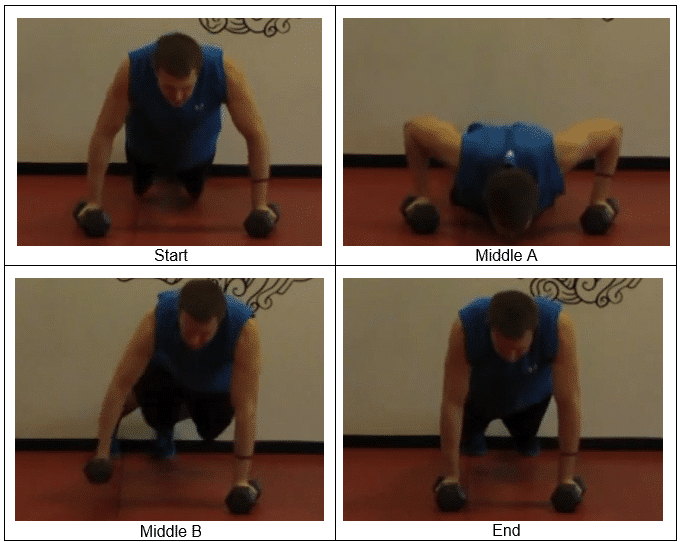 Push Up Roll A KILLER Chest and Back Exercise For You