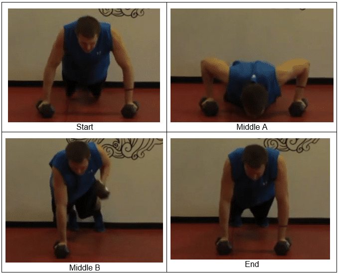 Push Up Roll Left Side A KILLER Chest and Back Exercise For You