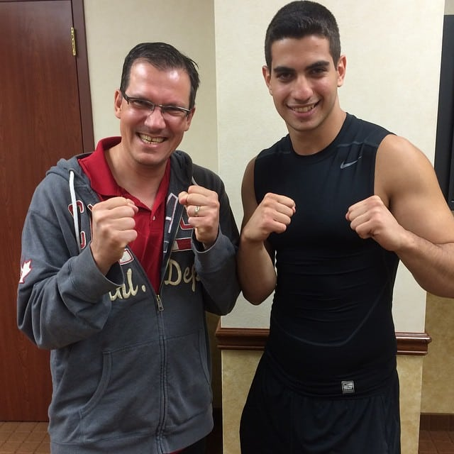 Andrew Raposo and Rick Kaselj Las Vegas September 2014
