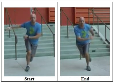 Skater Hops 5 Minutes Cardio Circuit