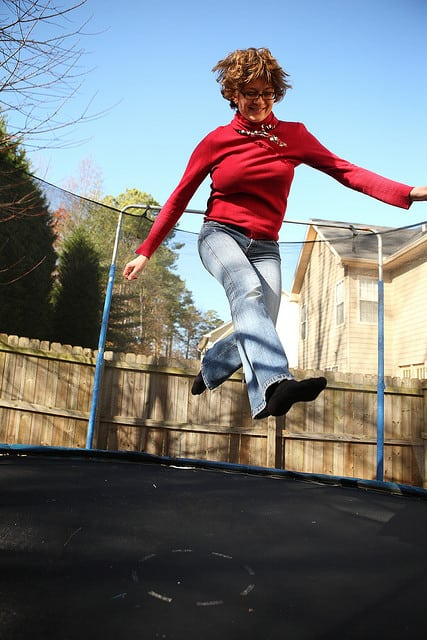 Trampoline Bounce Something That You Should Have In Your Bedroom to Spice Things Up