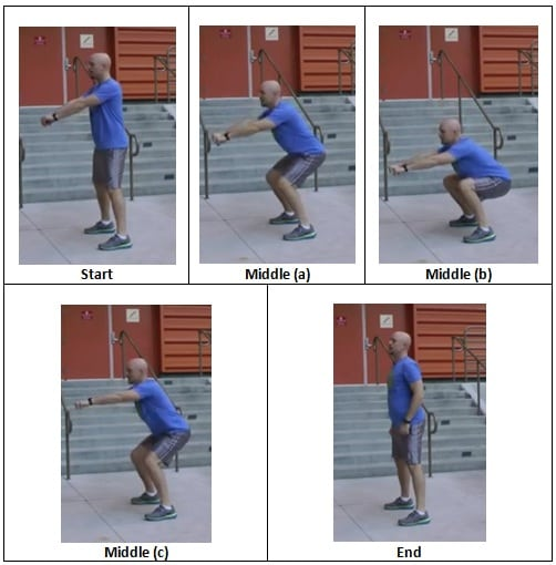 Triple Stop Bodyweight Squat The Triple Stack Workout Finisher