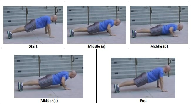 Triple Stop Push Up The Triple Stack Workout Finisher