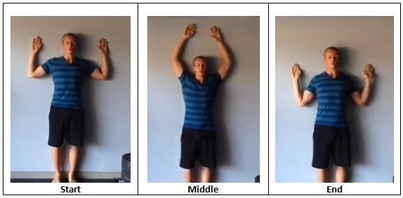 Wall Angels Quick Workout You Can Do At Work