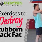 5 Exercises to Destroy Stubborn Back Fat
