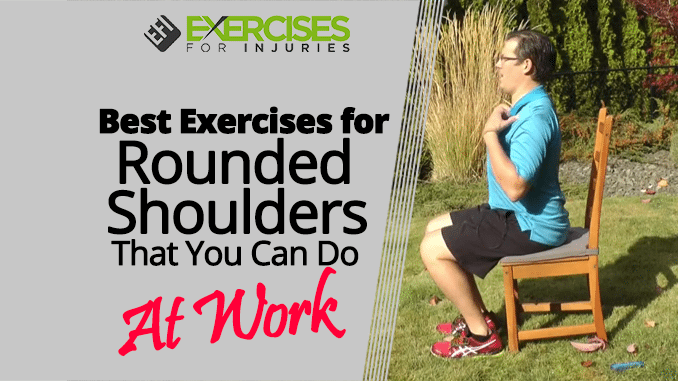 Best exercises for rounded shoulders that you can do at work best exercises for rounded shoulders that you can do at work publicscrutiny Gallery