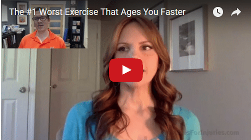 YT vid - The #1 Worst Exercise That Ages You Faster