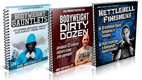 Get ripped in 8 minutes with Kettlebell Finishers