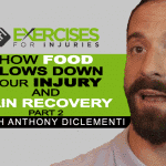 How Food Slows Down Your Injury and Pain Recovery with Anthony DiClementi (Part 2)