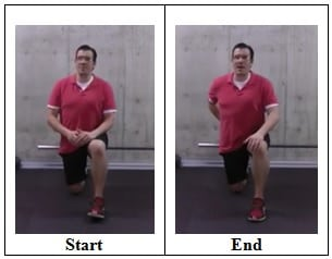 90 90 Hip Flexor Stretch front view Best Stretches To Do if You Sit All Day