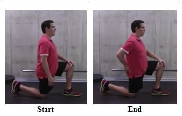 90 90 Hip Flexor Stretch side view Best Stretches To Do if You Sit All Day