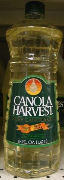 Canola Oil bottle 4 Worst Foods for Plantar Fasciitis