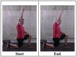 Kneeling Side Bend Lat Stretch Best Stretches To Do if You Sit All Day