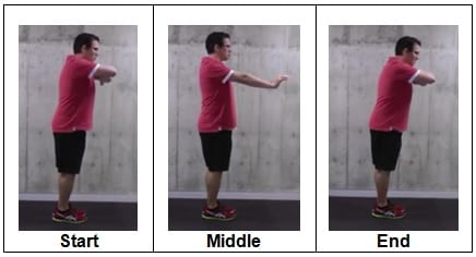 Wall Plank from Forearms to Straight Arms (side view)