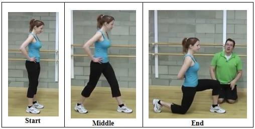 90-90 Hip Flexor Stretch